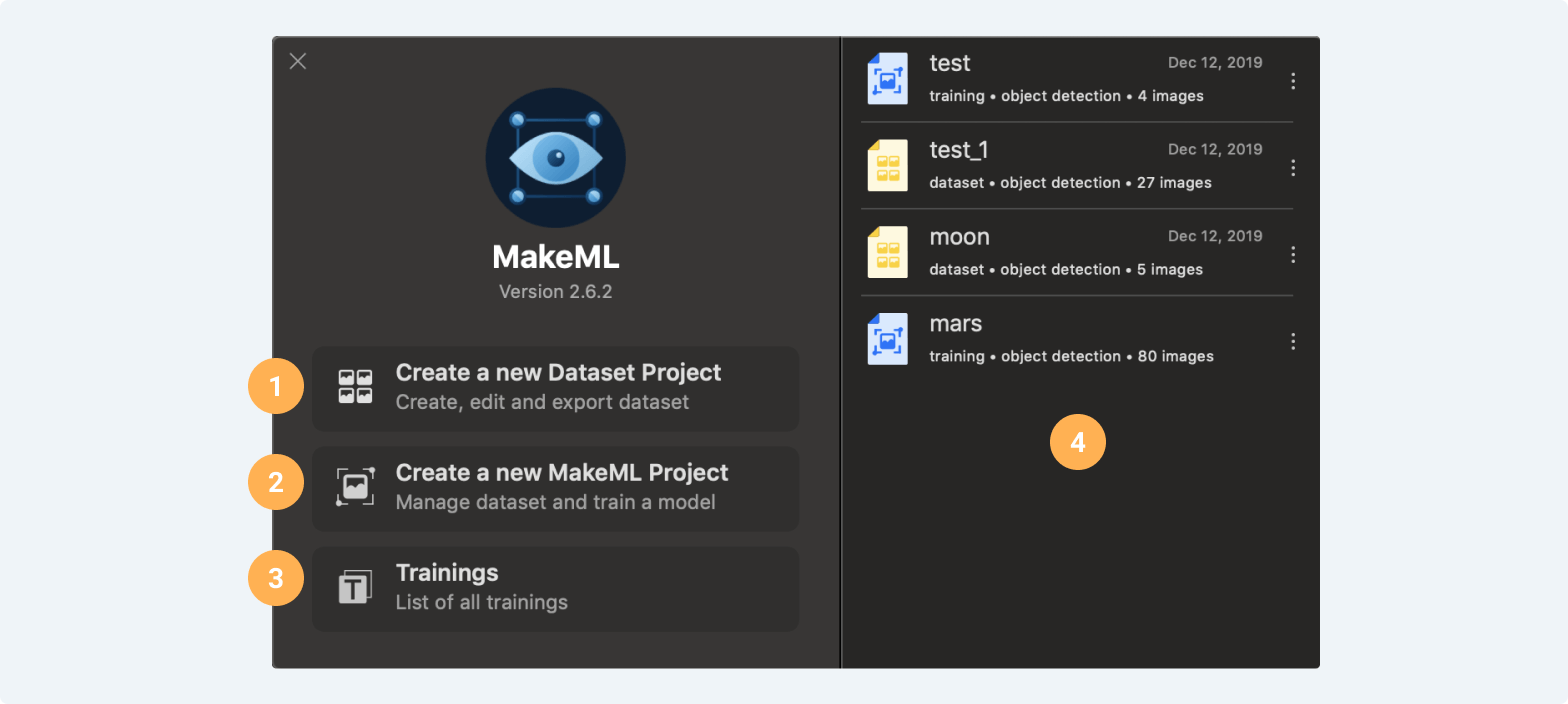 https://makeml.app/docs/assets/Object_Detection_Projects_Screen.png